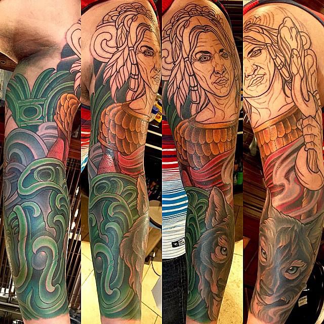 Custom Tattoo Sleeve