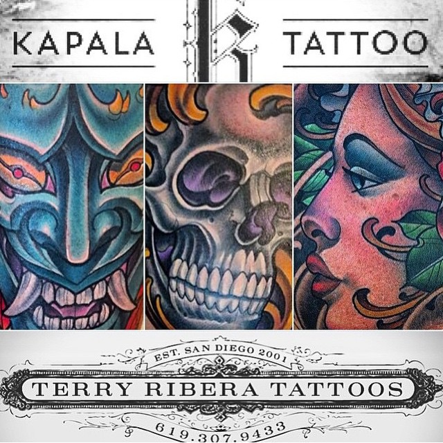 ATTENTION CANADA: Terry Ribera will be guest tattooing at Kapala Tattoo @kapalatattoo in Winnipeg, Canada July 12th-22nd. Appointments are going fast, so book yours today! Email TerryRibera@gmail.com #terryribera #winnipegtattoo #kapalatattoo