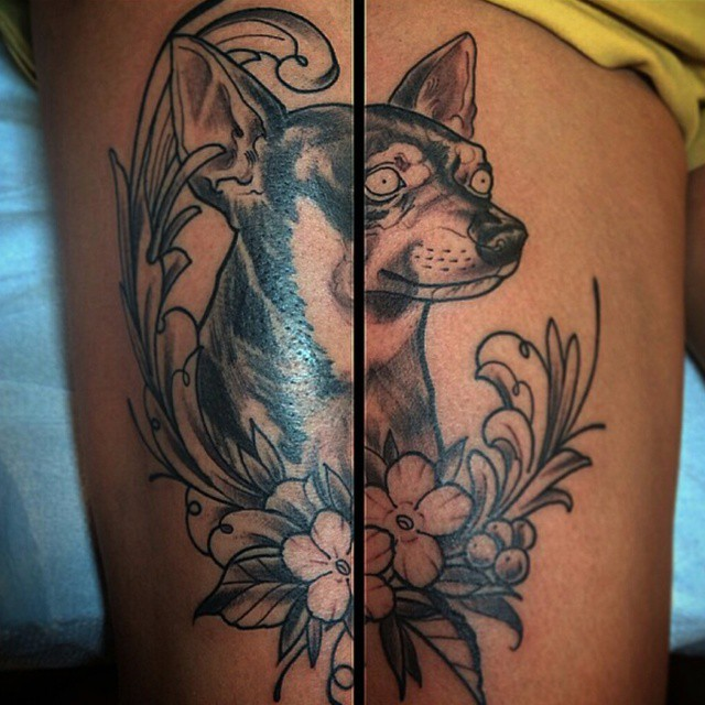 First session on this new piece by @gust_razotattoos #tattoo #tattoos #remington #remingtontottoo #gust #gustrazotattoos #northpark #30thst #sandiegotattoo #sandiegoartist #sandiego