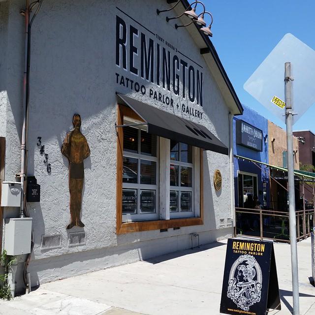 Home. #tattoo #tattoos #remington #remingtontottoo #sandiegotattoo #northpark #30thst #sandiegoartist #sandiego