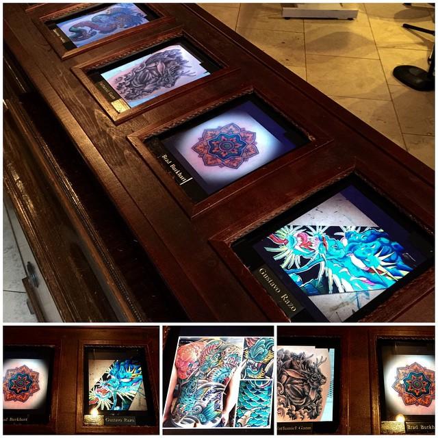 Futuristic portfolios @remingtontattoo #ipad #digital