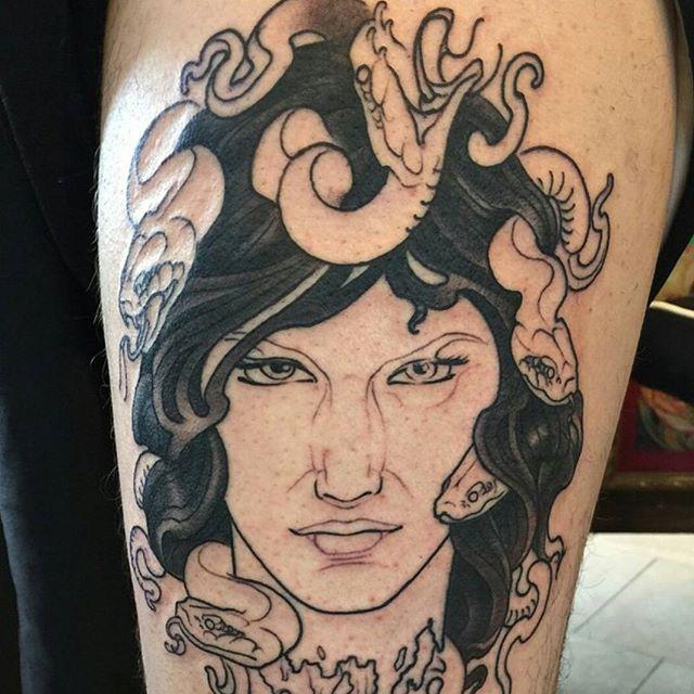 In progress tattoo by @nathanieltattoosd #art #wip #tattoo #tattoos #remington #remingtontattoo #nathanielganntattoo #nathanielgann #30thst #northpark #sandiegotattooshop #sandiegotattooartist #sandiegoartist #sandiego