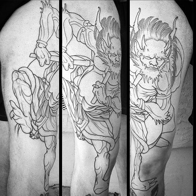 Work in progress by @gust_razotattoos #art #tattoo #tattoos #remington #remingtontattoo #gustrazotattos #gustrazo #northpark #30thst #sandiegotattoo #sandiegoartist #sandiegotattooshop #sandiegotattooartist #sandiego