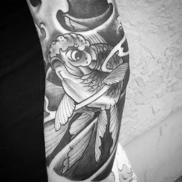 Tattoo in progress by @gust_razotattoos #art #tattoo #tattoos #tattooart #remington #remingtontattoo #gustrazo #gustrazotattoos #northpark #30thst #sandiegotattoo #sandiegotattooshop #sandiegotattooartist #sandiegoartist #sandiego