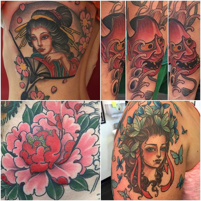 Lara Scotton from NYC @larascotton will be guest spotting with us this January 16-19, 2016. @remingtontattoo for bookings please email: lara@larascotton.com