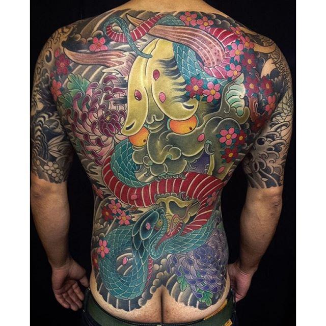 Tattoo by @alessioricci
