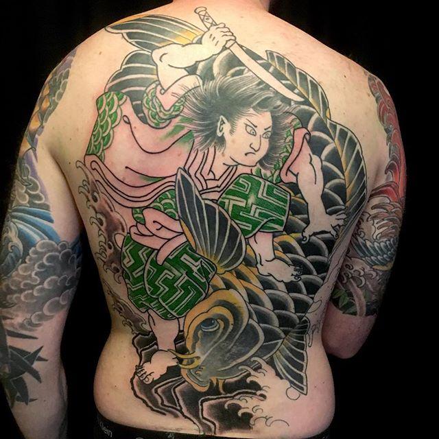 Tattoo japanische masken