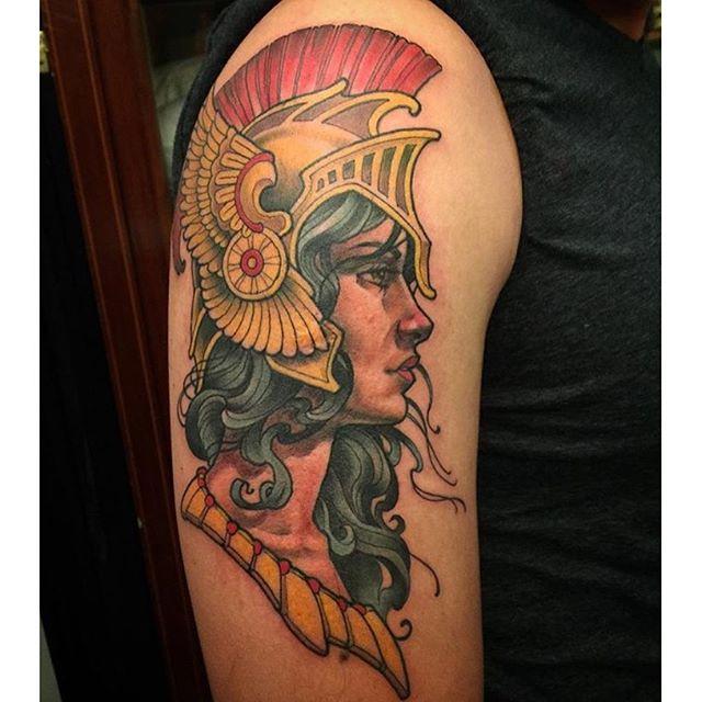 Athena Tattoo Remington Tattoo Parlor