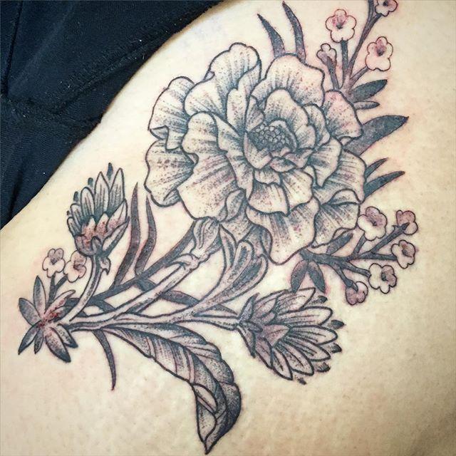 black grey tattoo