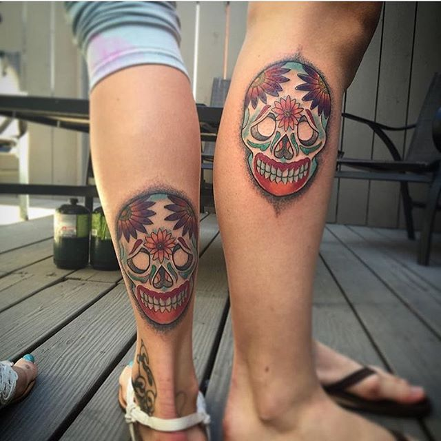 Matching sister tattoos by @gust_razotattoos #remingtontattoo #gustrazotattoos #sandiegotattooartist #sandiegotattoo #northparktattoo #northparksd