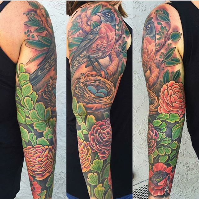 #remingtontattoo #fullsleevetattoo #sandiegotattoo #sandiegotattooartist @nathanieltattoosd