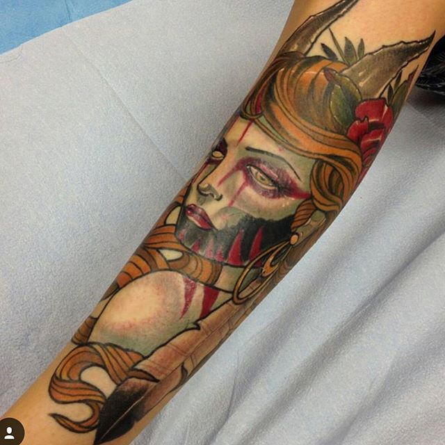 #remingtontattoo #sandiegotattooartist #sandiegotattooshop @gust_razotattoos
