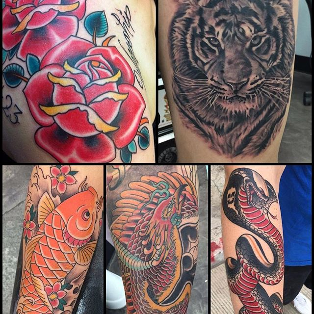 Welcome @bobbyflorestattoo to our shop. He's coming over to join the crew. Stop in and say hello, get tattooed and give Bobby a warm welcome #sandiegoartist #sandiegotattooartist #sandiegotattooshop #remingtontattoo #bobbyflorestattoo