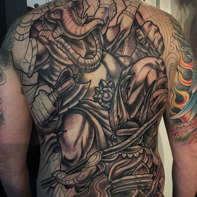 Making progress #terryribera #remingtontattoo @terryribera