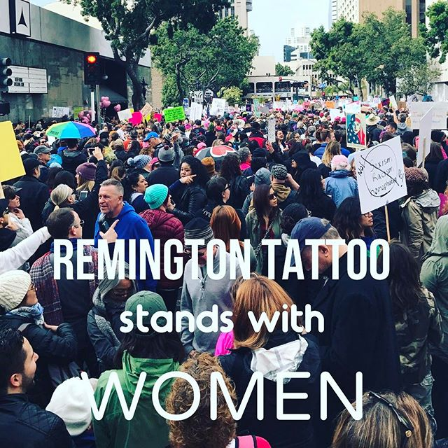 Remington Tattoo - Women's Rights
