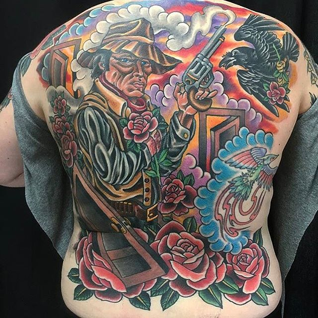Full Back Tattoo - Tattoo Shop, San Diego, CA