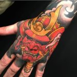 Samurai Hand Tattoo