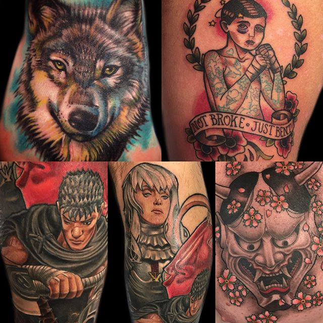 Starting Monday @tattoosbykriskezart will be joining our crew. Stay tuned for more. #remingtontattoo #sandiegotattooartist