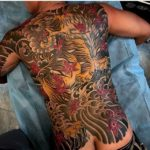 Finished Tiger Backpiece