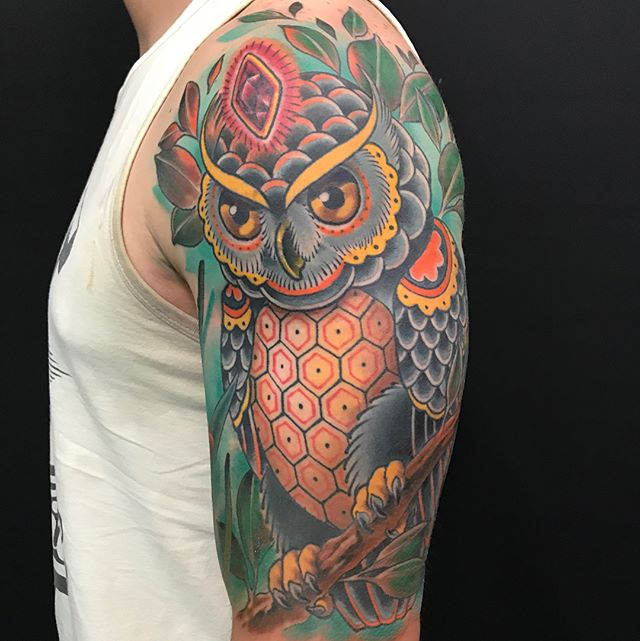 Tattoos by Nathaniel Gann @nathanieltattoo at Remington Tattoo in San Diego #nathanielganntattoo #remingtontattoo #sandiegotattooartist www.remingtontattoo.com