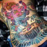 Ganesha Back Piece by John Sabin