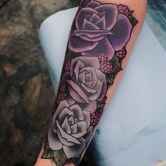 More #flower #rose added to this little #coverup done by @jasmineworth at #remingtontattoo #rosetattoo #flowertattoo #coveruptattoo #tattoo #sandiegotattooartist #northparktattooartist #sandiego #northpark #sd