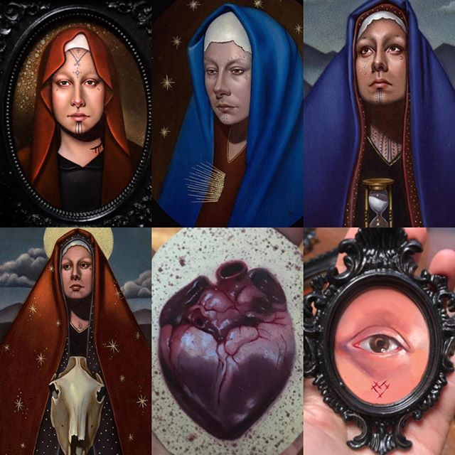 Don't miss out #jasmineworth @jasmineworth @jasmineworthtattoos is showing a collection of her newest work at @laluzdejesus in Los Angles June 1st-July 1st. If you have wanted a chance to collect one of her beautiful oil paintings please contact the gallery for more information. Come visit June 1st opening night. #laluzdejesusgallary #jasmineworth 4633 Hollywood Blvd, Los Angeles, CA.