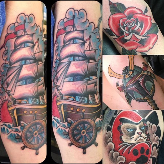 Help us welcome Wes Brown at Remington Tattoo Parlor who will be guest spotting with us August 15th and 16th! Contact @wesbrownart at wesbrowntattoos@gmail.com or phone 940-594-0737 for booking informations at Remington in San Diego!#sandiegotattooartist #northparktattooartist #sandiego #northpark #tattoo #sd #remingtontattoo