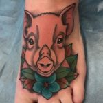 Pig Foot Tattoo