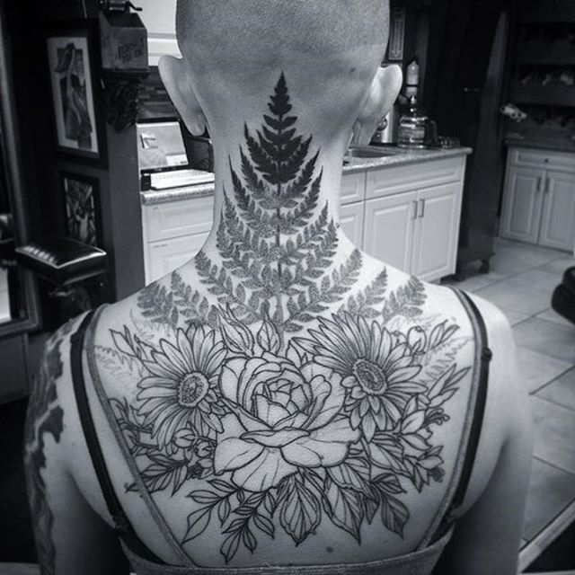 Progress on this #floral piece in the works by @gust_razotattoos at #remingtontattoo #floraltattoo #tattoo #flower #flowertattoo #fern #ferntattoo #botanical #botanicaltattoo #rose #rosetattoo #sandiegotattooartist #northparktattooartist #sandiego #northpark #sd