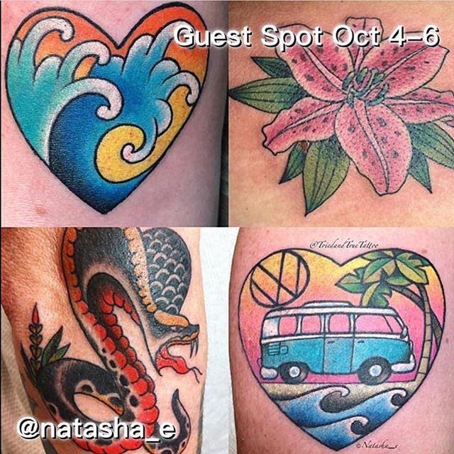 Help us welcome @natasha_e to Remington Tattoo October 6th-8th! Contact her to set up appointments while slots are still available!#northparktattooartist #sandiegotattooartist #sandiego #northpark #sd #tattoo #guestspot