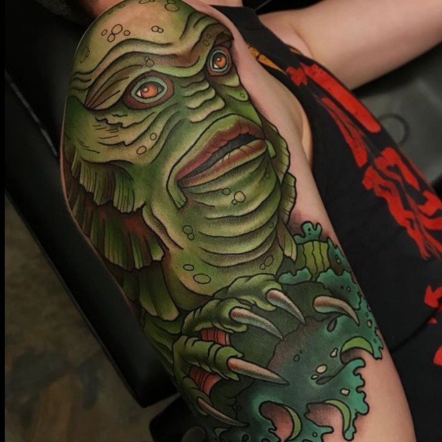 Creature from the Black Lagoon Tattoo